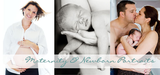 lake forest maternity and newborn portraits