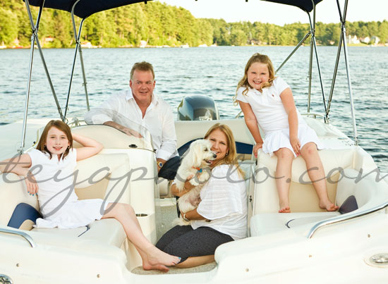 Family Portrait on the Boat