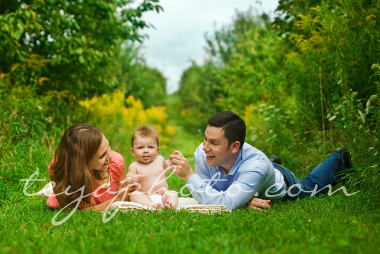 Family Portrait in the Orchard
