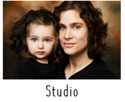 Family portrait in Massachusetts studio